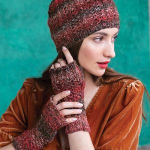 Noro Hat & Fingerless Mitts
