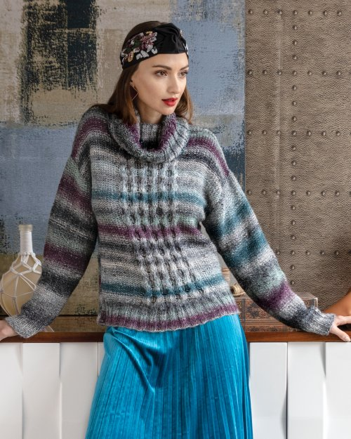 Noro Turtleneck Pullover