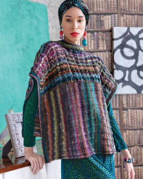 Noro Two Direction Poncho
