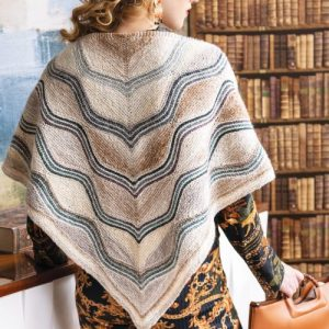 Noro Wavy Triangle Shawl